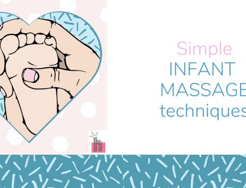 INFANT MASSAGE TIPS